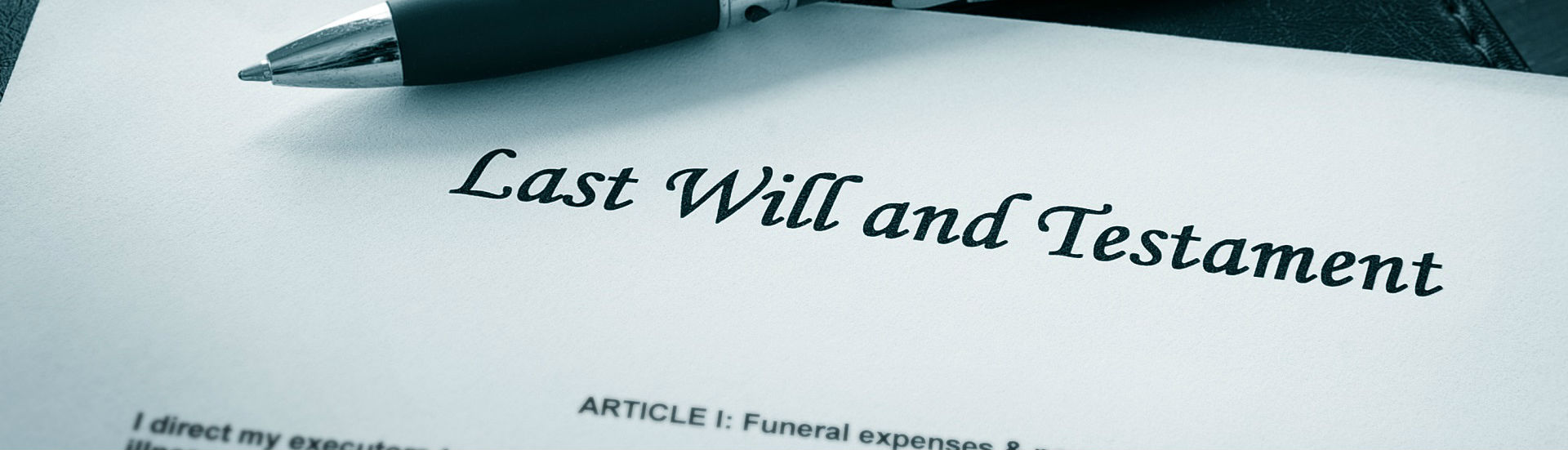 Experienced in the drafting of Wills and applications for Grants of Probate and Grants of Administration